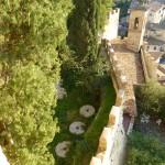 Il giardino e le mole del mulino