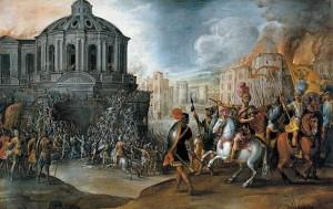 La svolta: il Sacco di Roma del 1527