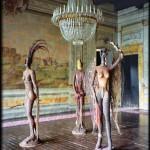 Grande Sala settecentesca e sculture di Marcos Cei