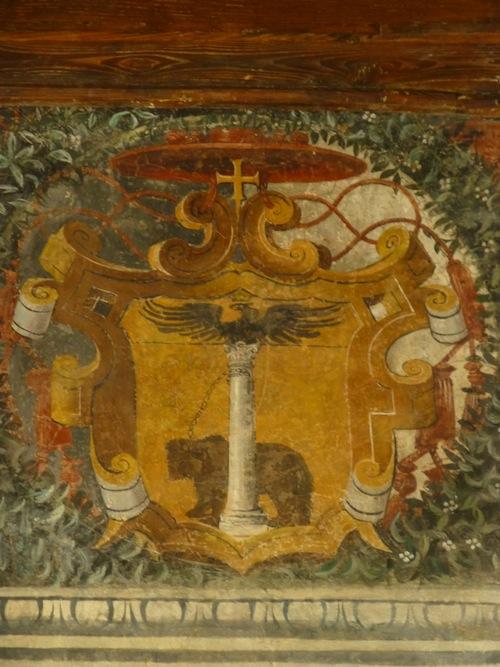 Lo stemma di Alessandro Cesarini (cappello cardinalizio)